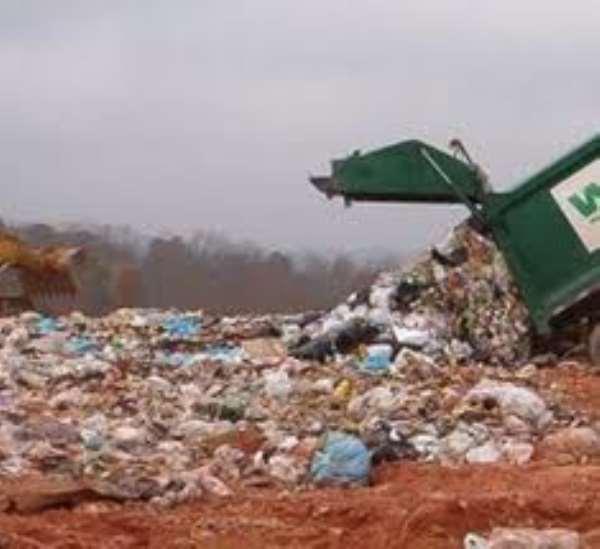 Ghana's stored wealth in urban garbage