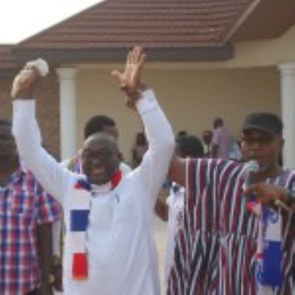 Massive Turnout For Buabeng's Campaign Launch