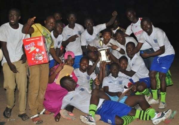Champions Peace FC celebrating their Homowo Gala feat