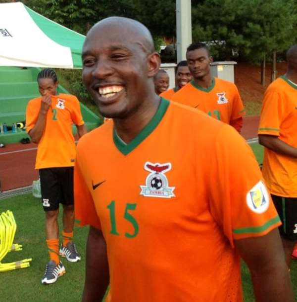 Chintu Kampamba makes Zambia return