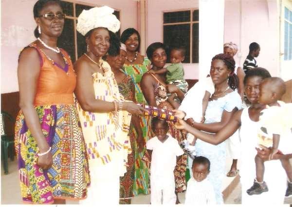 THE NKOSOHEMAA OF AKYEM-APEDWA VISITS APEDWA PRESBY