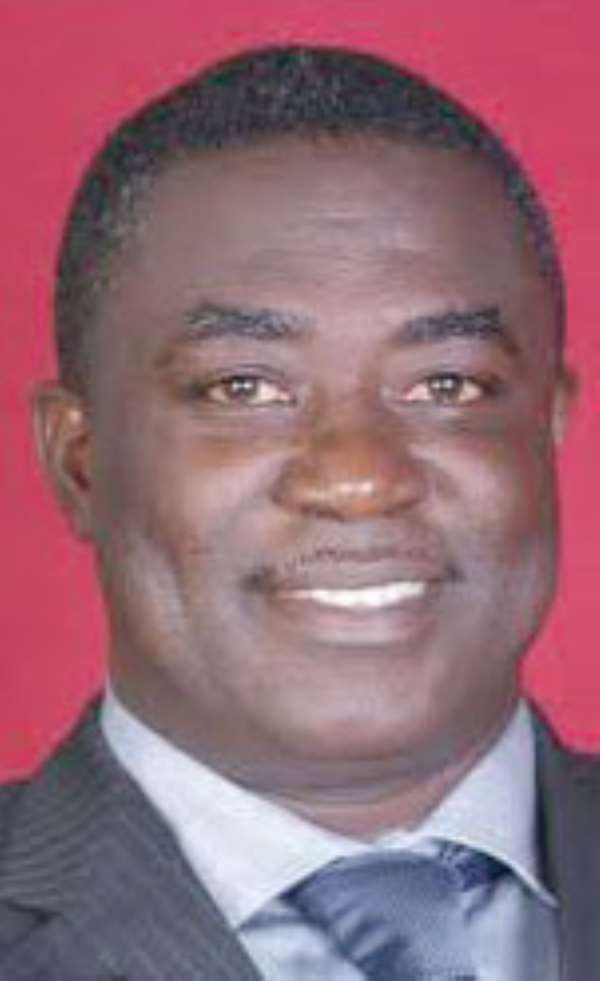 Mr. Joseph Nii Laryea Afotey Agbo, MP for Kpone-Katamanso
