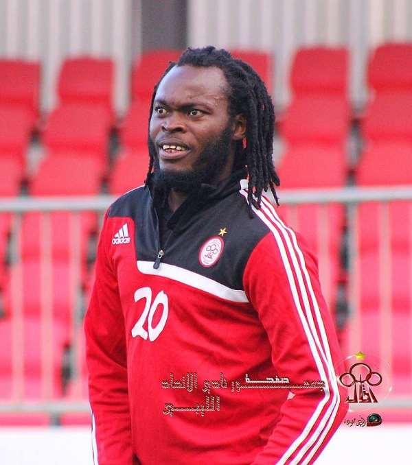 Aduana striker Yahaya Mohammed