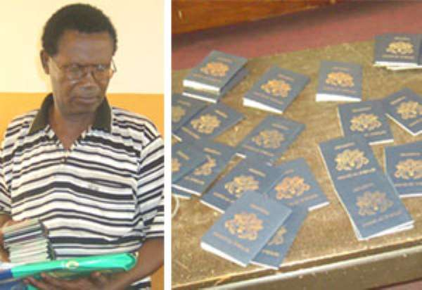 Notorious visa  fraudster grabbed