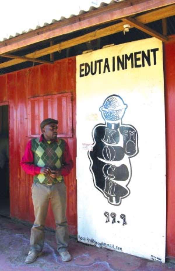 In Kenya, a community radio brings succour to dwellers