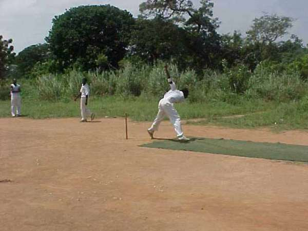 Schools in Tamale ends cricket training course