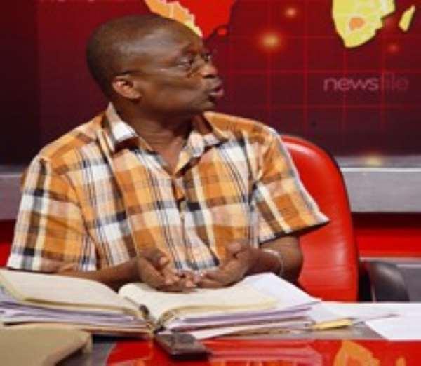 Editor-In-Chief of the New Crusading Guide newspaper, Mr Malik Kweku Baako