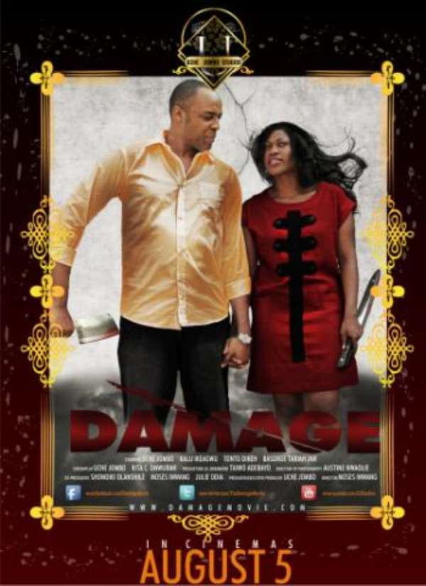 I'M PROUD OF THE TURNOUT FOR DAMAGE AT THE CINEMAS SO FAR- Uche Jombo