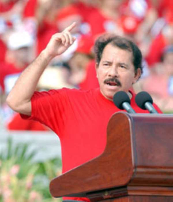 NDC congratulates Ortega