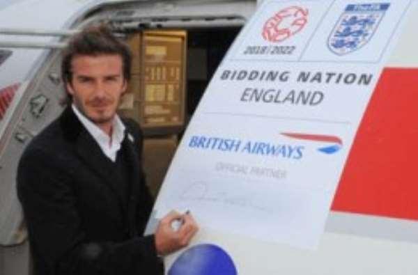David Beckham was part of England's 2018 World Cup bid team