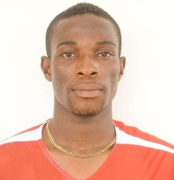 David Offei has signed for Amidaus Professionals.