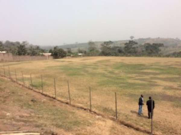 Dawu pitch is 65% complete, Dreams FC's adopted home venue to be ready in two weeks