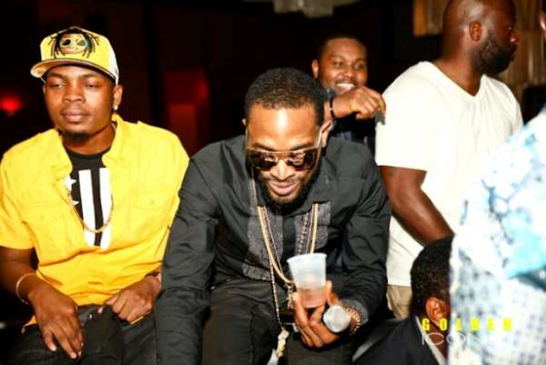 DBanj and Olamide First Performance in Houston, Texas