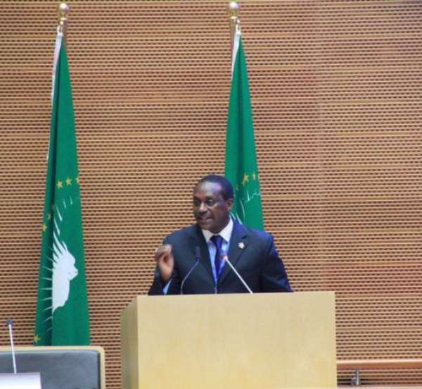 Yumkella lays out a vision for Africa's Economic Prosperity