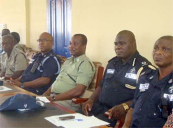 Volta Police Battle Criminals
