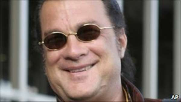 Seagal stars in his own reality show called Steven Seagal Lawman
