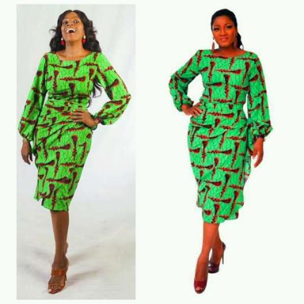 Omotola, Others Spotted In Same 'Buba And Iro' Outfit