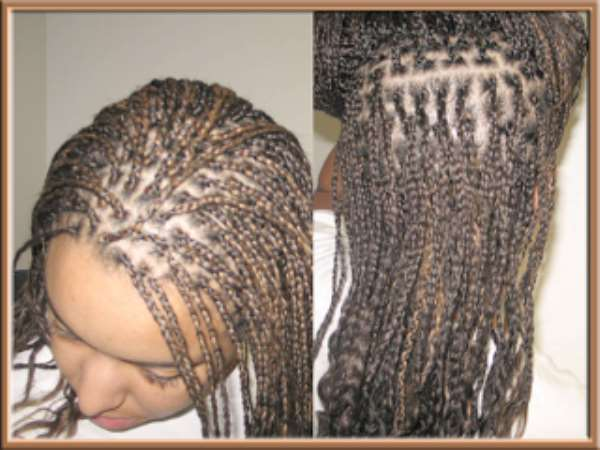 How to clean braids