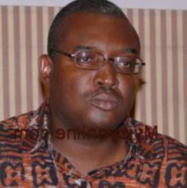 Mr Kobby Acheampong - Deputy Tourism Minister