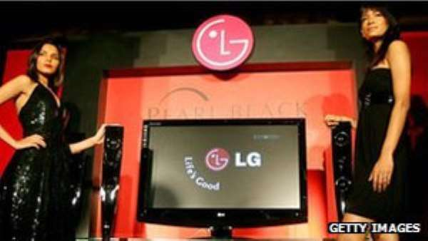 LG is the world's second biggest producer of LCD displays