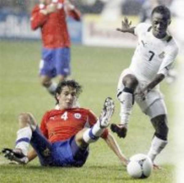 Richard Mpong's impressive showing against Chile has been rewarded with another call-up