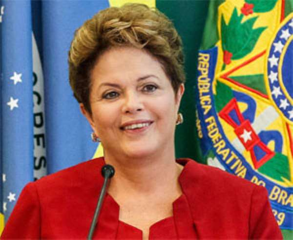 Brazil 'Ready' For Football World Cup, Says Rousseff