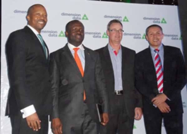 Dimension Data Makes Strides