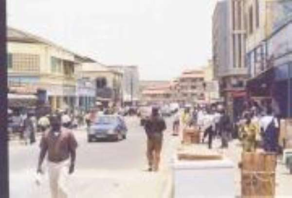 Disaster Looms At Accra Central