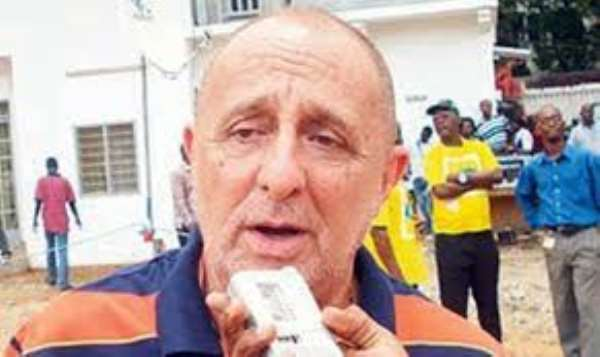 Former Hearts of Oak Chairman Harry Zakkour says club is totally down