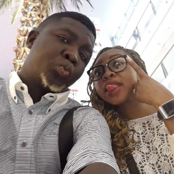 Comedian Seyi Law And Wife, Ebere On Love Tour [Pictures]