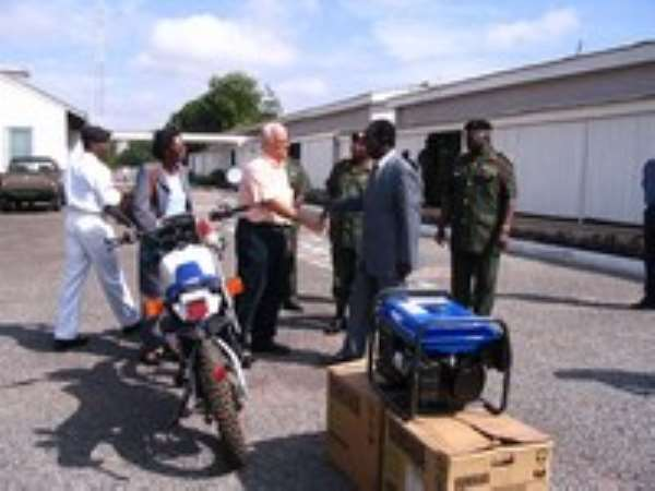 Firm Donates To Armed Forces