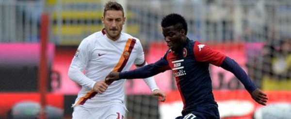 Donsah says he is open to a move to England