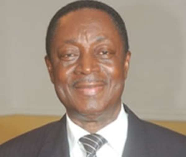 Minister for Finance and Economic Planning, Dr Kwabena Duffuor.