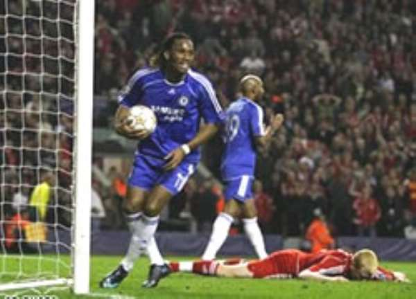 Drogba scored Chelsea's equaliser to spark a comeback that had looked unlikely
