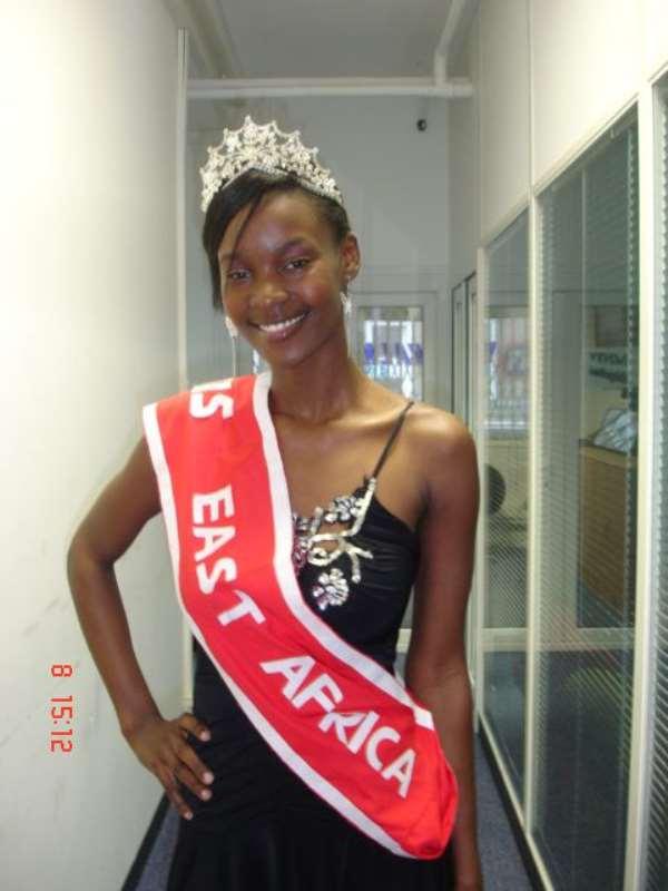 When Miss East Africa UK met Her Majesty The Queen of England