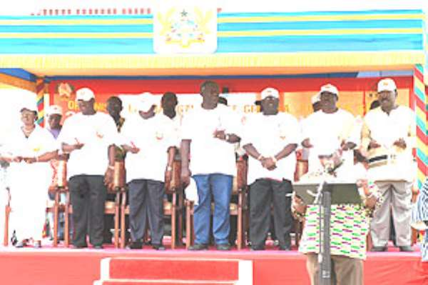 Shocking-Most Ghanaians Can't Sing The National Anthem
