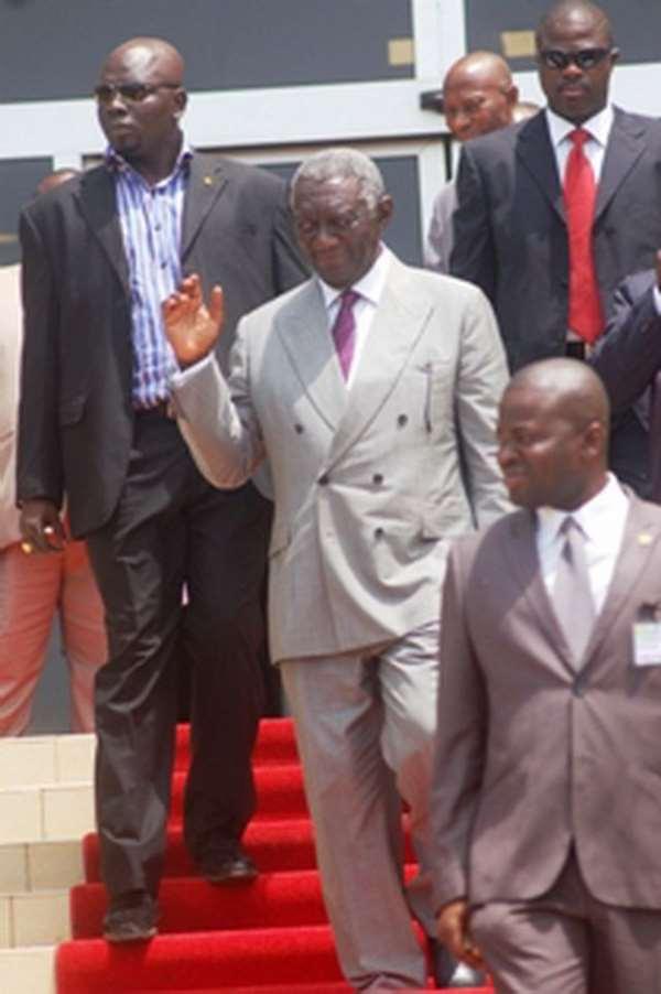 Ex President Kufour is Unrepentant