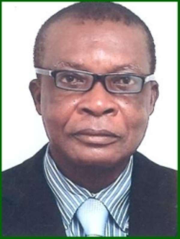 DVLA CEO, Justice Amegashie