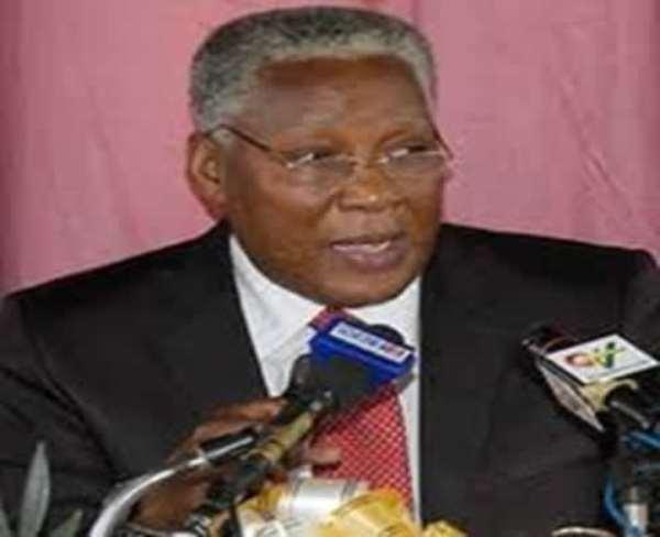 Hon. E.T Mensah-Minister of Employment and Social Welfare