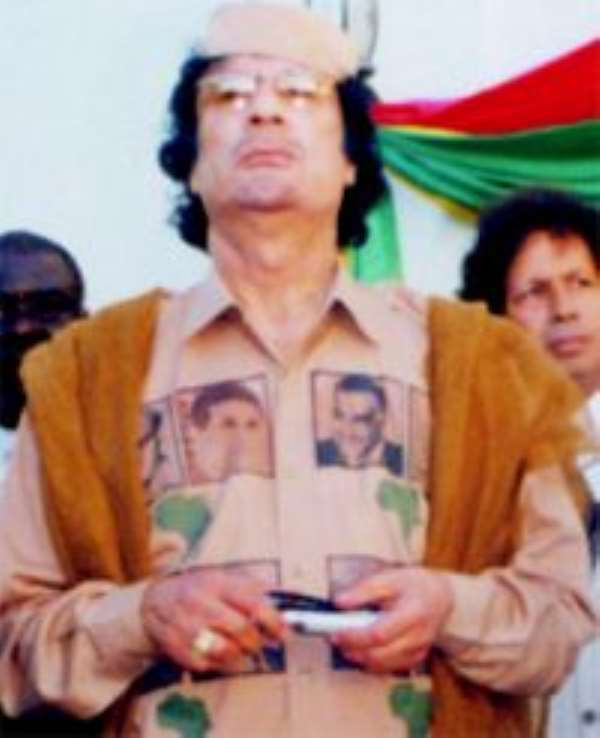 Ghanaians forced to fight for Gaddafi
