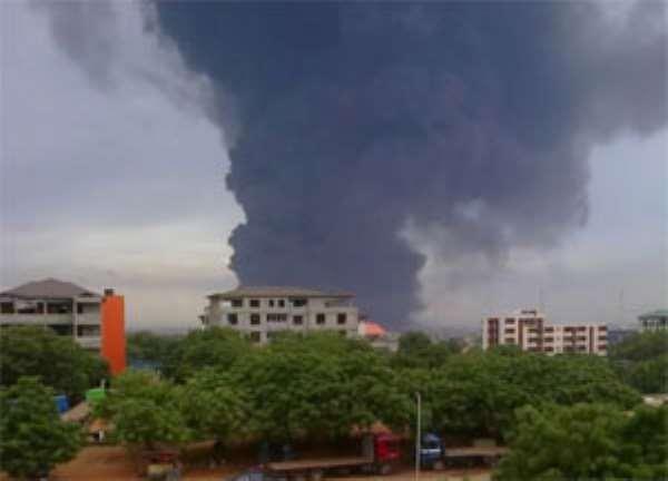 Fire Guts TOR Pipeline In Tema, One Person Dead