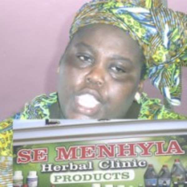 •Maame Se Menhyia and her produts
