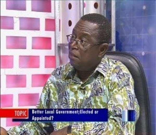 Dr. Kwesi Jonah, Senior Research Fellow at IDEG