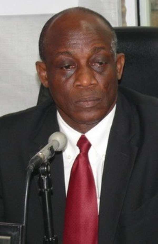 Finance Minister Seth Terkper