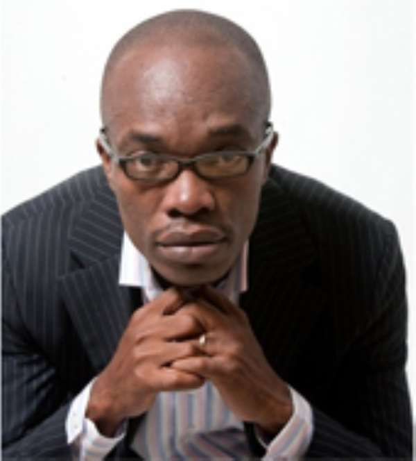 Ato Kwamena Dadzie, author of Pretending To Be President