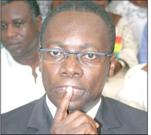 Dr. George Sipa Yankey, Minister of Health