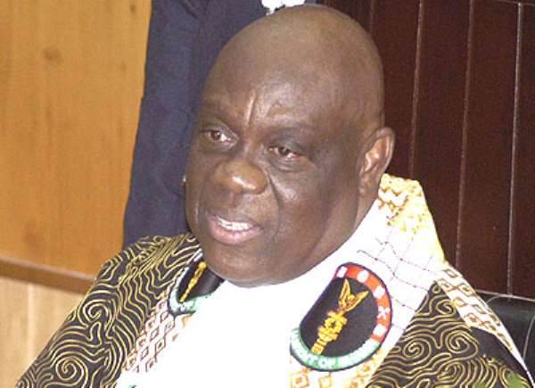 Speaker Of Parliament Acts As President Of Ghana