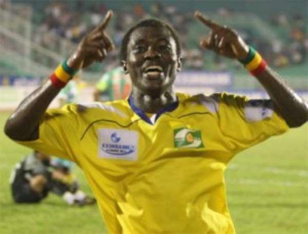 Edmund Owusu-Ansah set to rejoin Heart of Lions