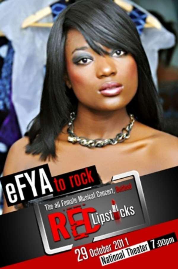 EFYA TO ROCK RED LIPSTICKS MUSICAL CONCERT