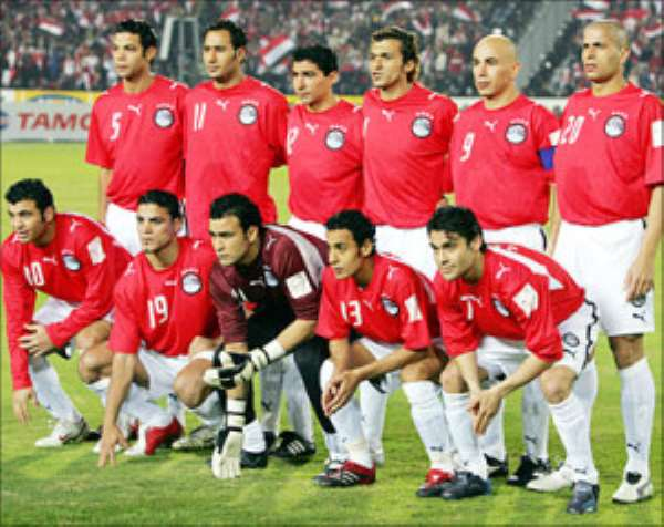 Egypt: 23 players for a friendly match against Sierra Leone